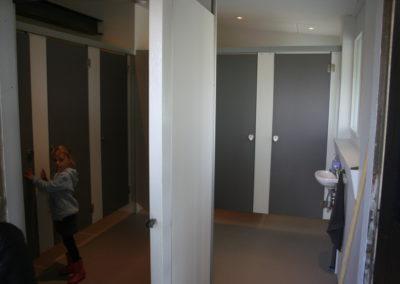 Toegang naar toiletten